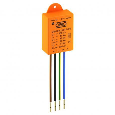 Überspannungsschutz für LED-Systeme ÜSM-20-230I1P+PE
