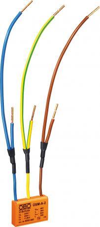 Überspannungsschutzmodul 230 V zur Durchgangsverdrahtung