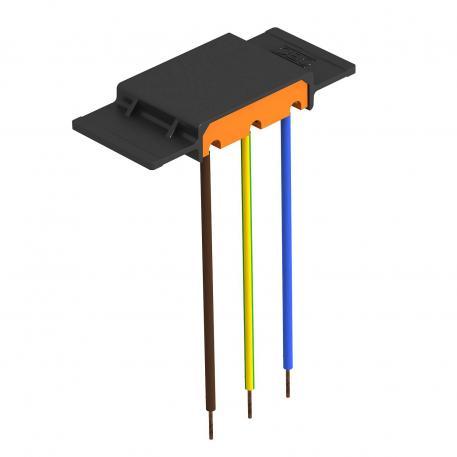 Überspannungsschutzmodul 230 V mit Halter für Gerätebecher GB2 und GB3