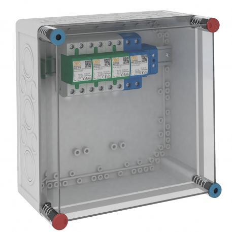 VG-Gehäuse mit MCD 50-B/3+1