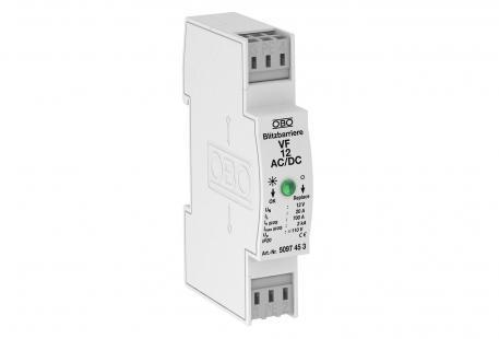 MSR-Schutz für 2-polige Stromversorgung 12 V