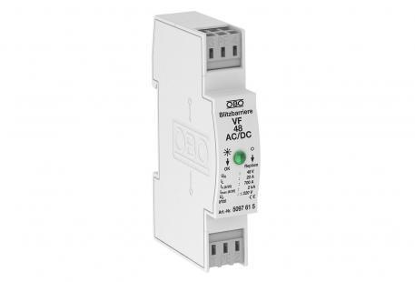 MSR-Schutz für 2-polige Stromversorgung 48 V