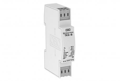 Basisschutz für Doppeladersysteme mit HF-Anwendungen 120 V