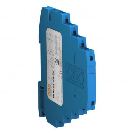 Reihenschutzgerät, 4-polig, Ausführung 24 V Ex geprüft