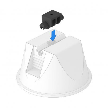 Adapter Universal für Dachleitungshalter Typ 165/MBG