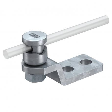 Anschluss- und Endstück mit Verbinder und Druckwanne