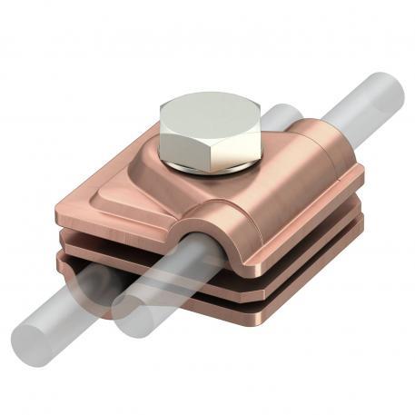 Vario-Schnellverbinder Rd 6-8 / 8-10 mm Cu