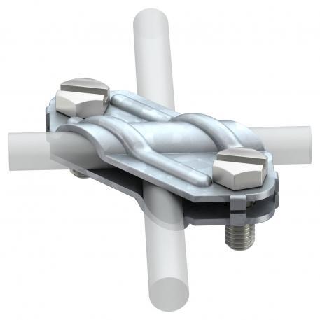 Kreuzverbinder für Rund- und Flachleiter FT