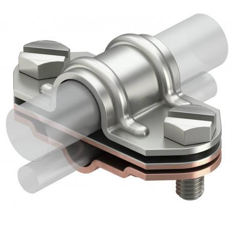 Universelles Zweimetall-Trennstück, Rd 16 A2, Rd 8-10 Kupfer