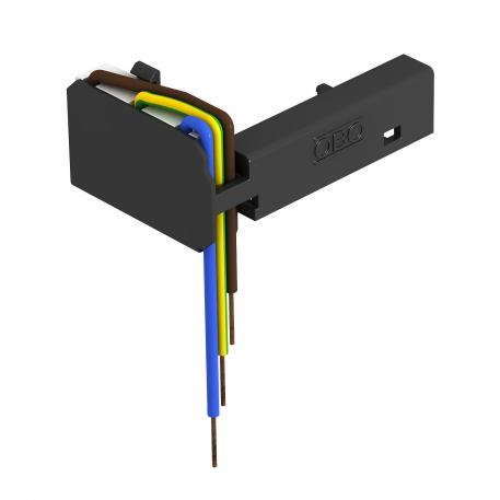 Überspannungsschutz-Modul mit Träger für Modul 45connect