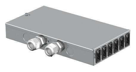 Energieverteiler UVS mit Festanschluss, Normal- und Sonderstromkreis