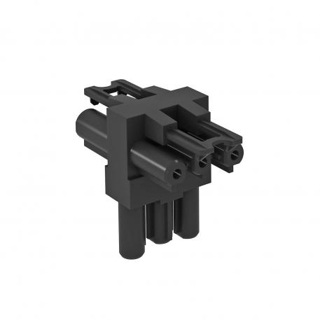 Verteilerblock 3-polig, T-Form