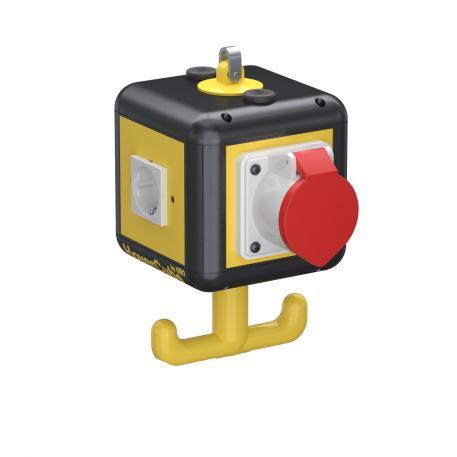 HoverCube VH-4, 3 x Schutzkontakt-Steckdose, 1 x CEE 16 A