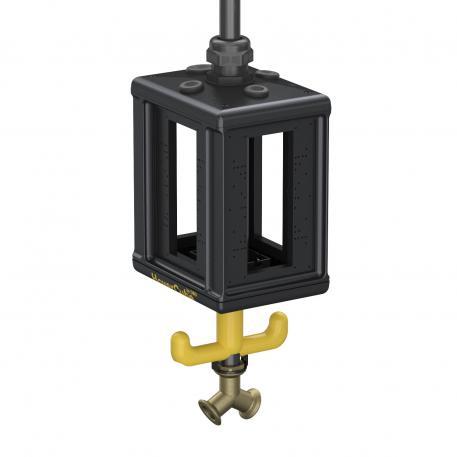 Versorgungseinheit VHF-8, Leergehäuse, mit Druckluftanschluss