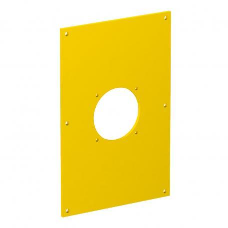 Abdeckplatte VHF 1 x mit Befestigungssystem