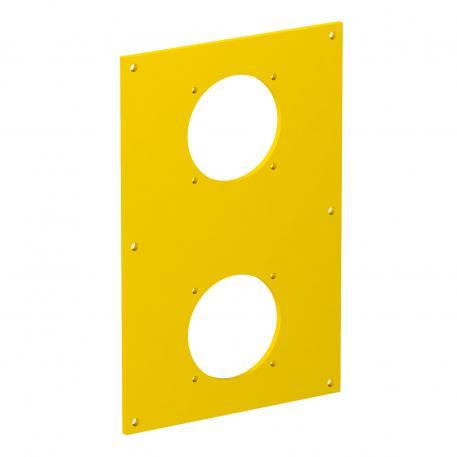 Abdeckplatte VHF, für 2 x Anbausteckdose Typ ASD