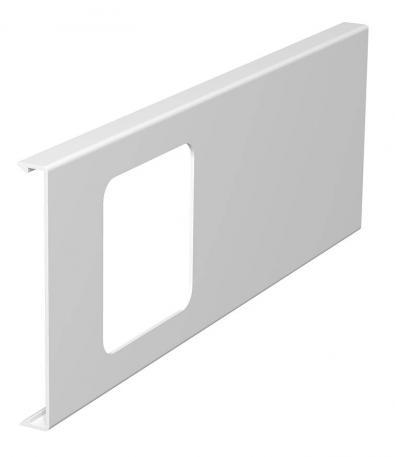 Oberteil für 1fach-Gerätedose, Kanalhöhe 110 mm