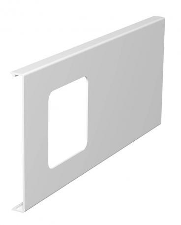 Oberteil für 1fach-Gerätedose, Kanalhöhe 130 mm