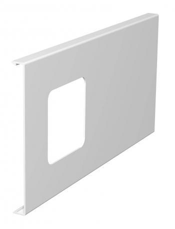 WDK Oberteil für 1-fach Gerätedose, Kanalhöhe 150 mm