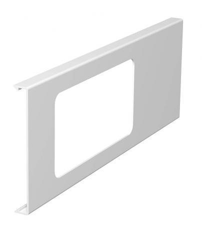 Oberteil für 2fach-Gerätedose, Kanalhöhe 110 mm
