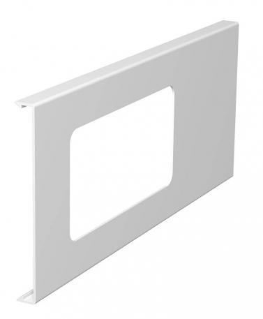 Oberteil für 2fach-Gerätedose, Kanalhöhe 130 mm