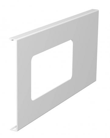 Oberteil für 2fach-Gerätedose, Kanalhöhe 150 mm