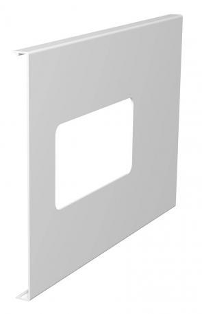 WDK Oberteil für 2-fach Gerätedose, Kanalhöhe 210 mm