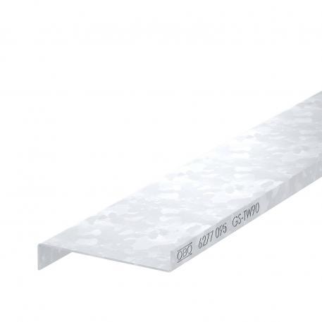 Trennwand Stahlblech, Kanalhöhe 90 mm