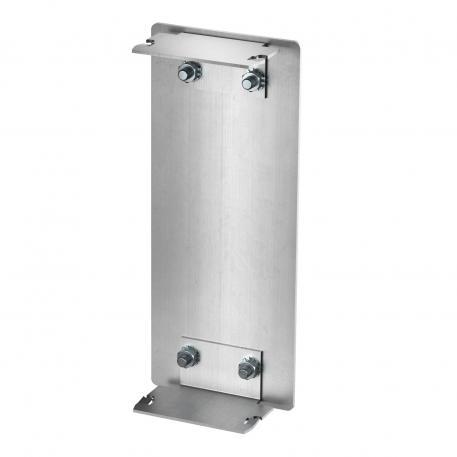 Endstück Aluminium, Kanalhöhe 70 mm