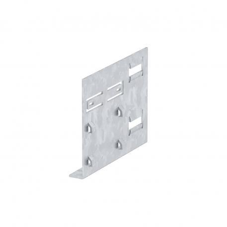 Wandkonsolenadapter für GK Kunststoff, Kanalbreite 110 mm