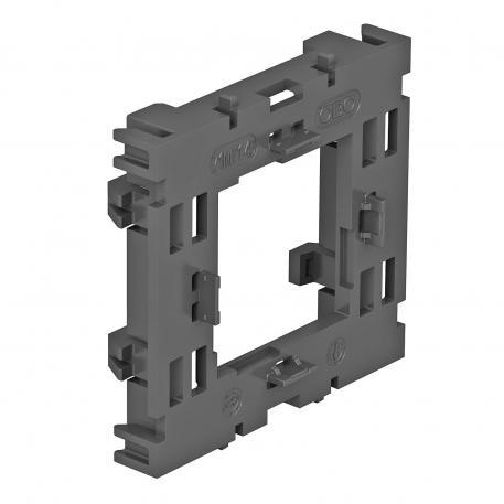 Montageträger, 1fach, für Modul 45®