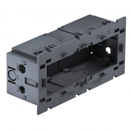 Geräteeinbaudose, 3-fach, für Modul 45®