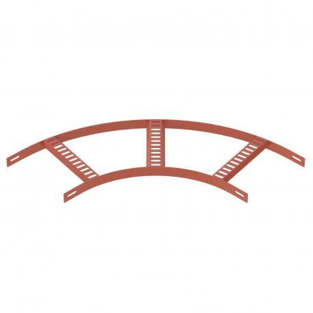 90°-Bogen mit Trapez-Sprosse SG