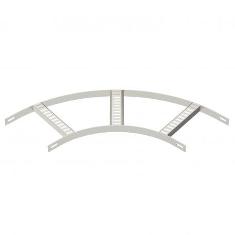 90°-Bogen mit Trapez-Sprosse A4