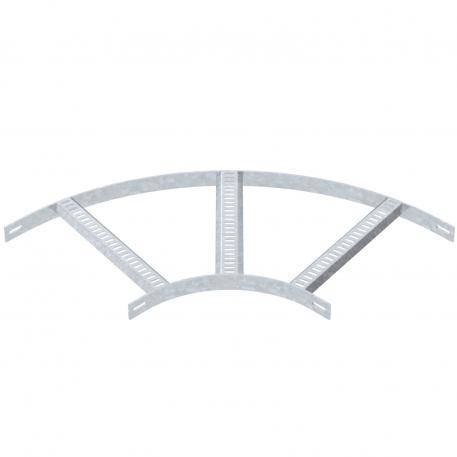 90°-Bogen mit Trapez-Sprosse FT