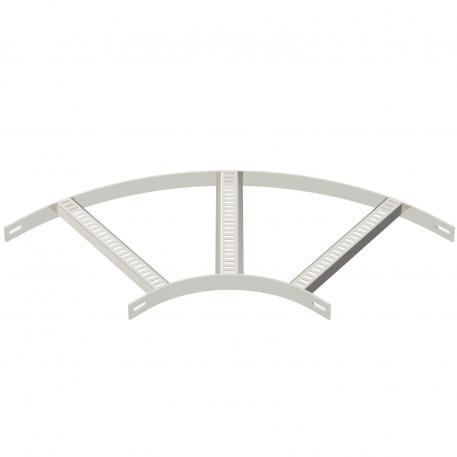90°-Bogen mit Trapez-Sprosse A2