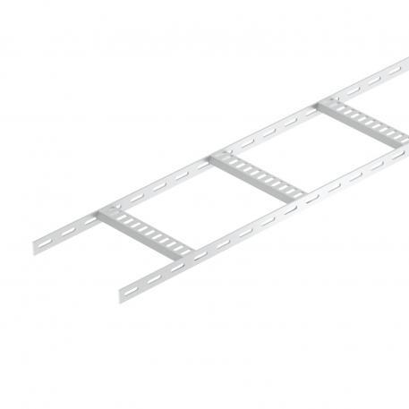 Kabelleiter mit Trapez-Sprosse, leicht ALU