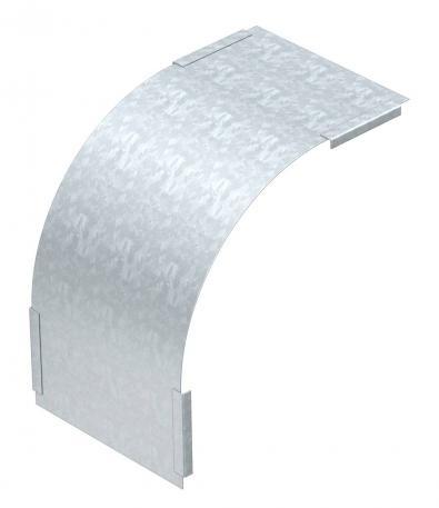 Deckel für 90° Vertikalbogen, fallend, Seitenhöhe 85 FS