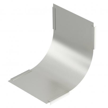 Deckel für 90° Vertikalbogen, steigend A4