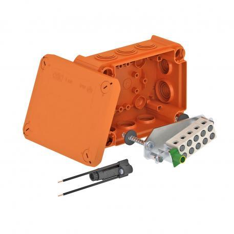 FireBox T160ED mit Innenbefestigung und Sicherungshalter