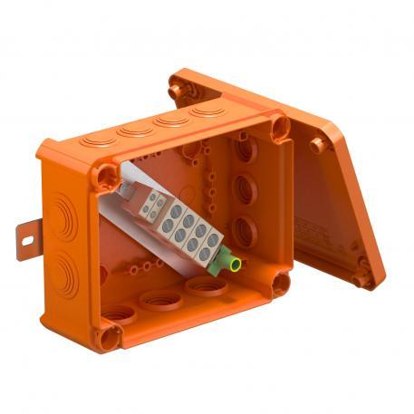 FireBox T160ED mit Außenbefestigung und Sicherungshalter