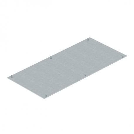 Montagedeckel, blind, 800 mm