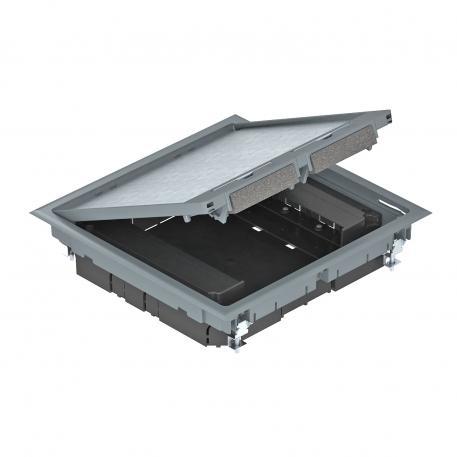 Geräteeinsatz quadratisch für Estrichhöhe 55 mm