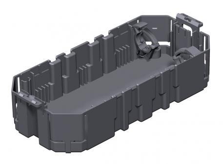 Gerätebecher GB2, Systemlänge 165 mm, mit Bodenlochung groß