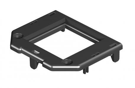 Abdeckplatte für Gerätebecher GB2, Modul 45®-Einbauöffnung