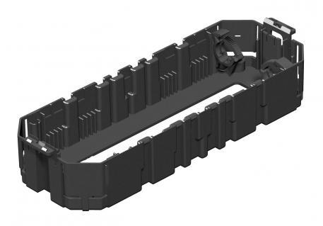 Gerätebecher GB3, Systemlänge 208 mm, mit Bodenlochung groß