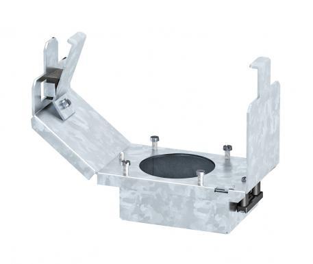 Geräteträger für CEE-Einbau, Systemlänge 165 mm, ohne CEE