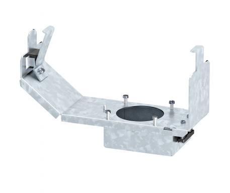Geräteträger für CEE-Einbau, Systemlänge 208 mm, ohne CEE