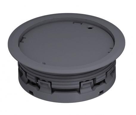 Leitungsauslass Doppelboden für trocken gepflegten Fußboden, blind