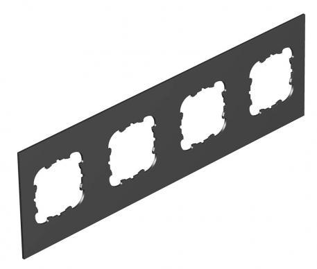 Abdeckplatte Telitank T12L, runde Einbauöffnung für EKR-Gerät